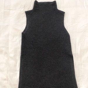 Wilfred Mock Neck Sweater Vest